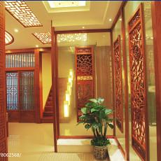 精选133平米中式别墅玄关设计效果图