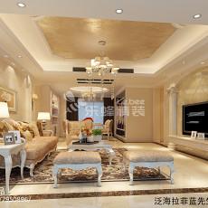 精选家庭客厅装饰画效果图