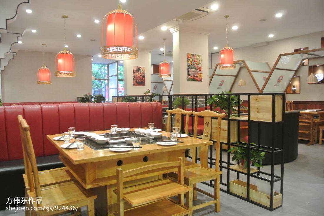 新中式餐厅设计图片