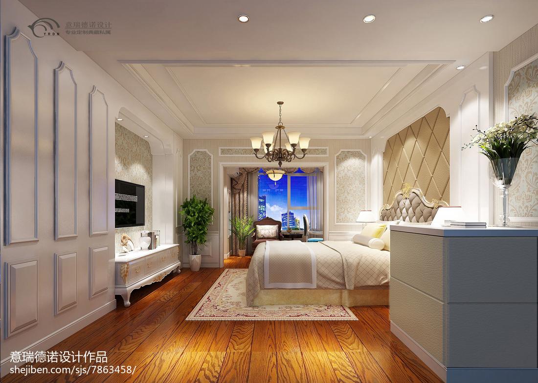 精选美式小户型卧室装修图片