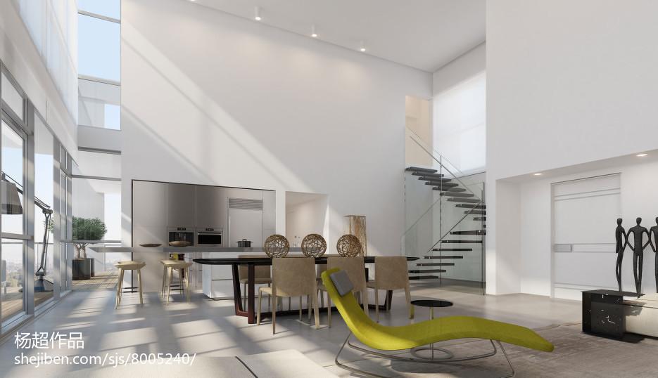 美式风格复式楼装修设计效果图