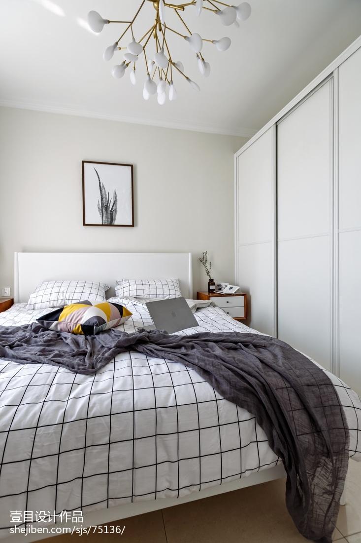 个性北欧风格卧室装修图片
