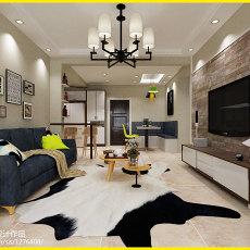 2018面积76平二居客厅效果图片欣赏