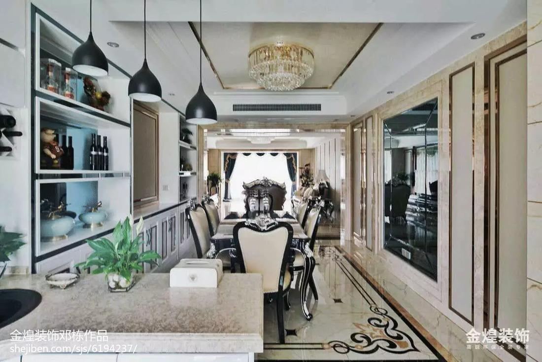 欧式风格四居室创意图设计
