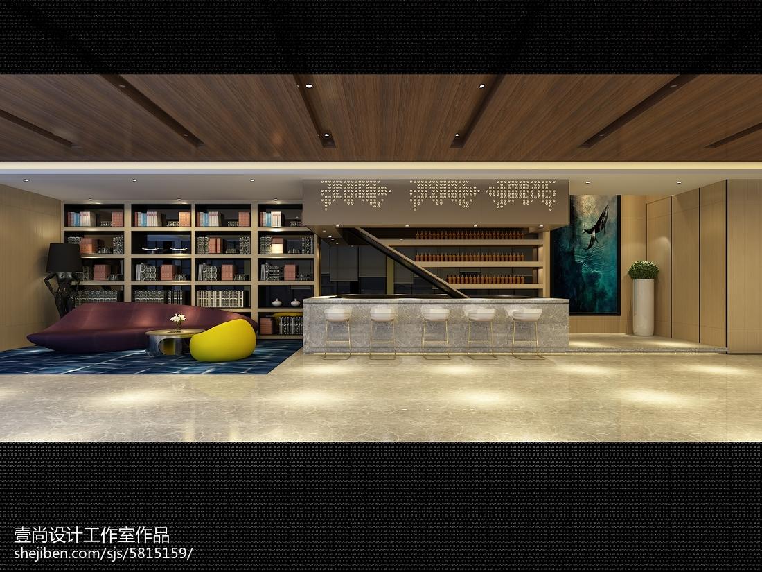 酒店设计室内走廊效果图欣赏