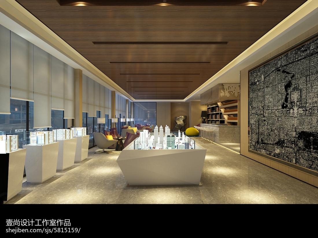 豪华酒店设计室内吊灯效果图欣赏