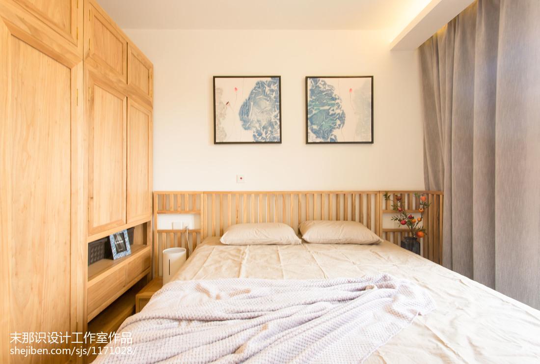 精选79平米二居卧室混搭实景图