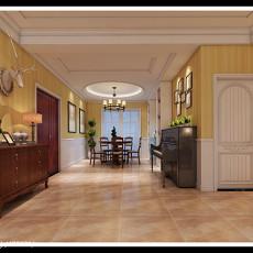 时尚美式家装客厅设计效果图大全