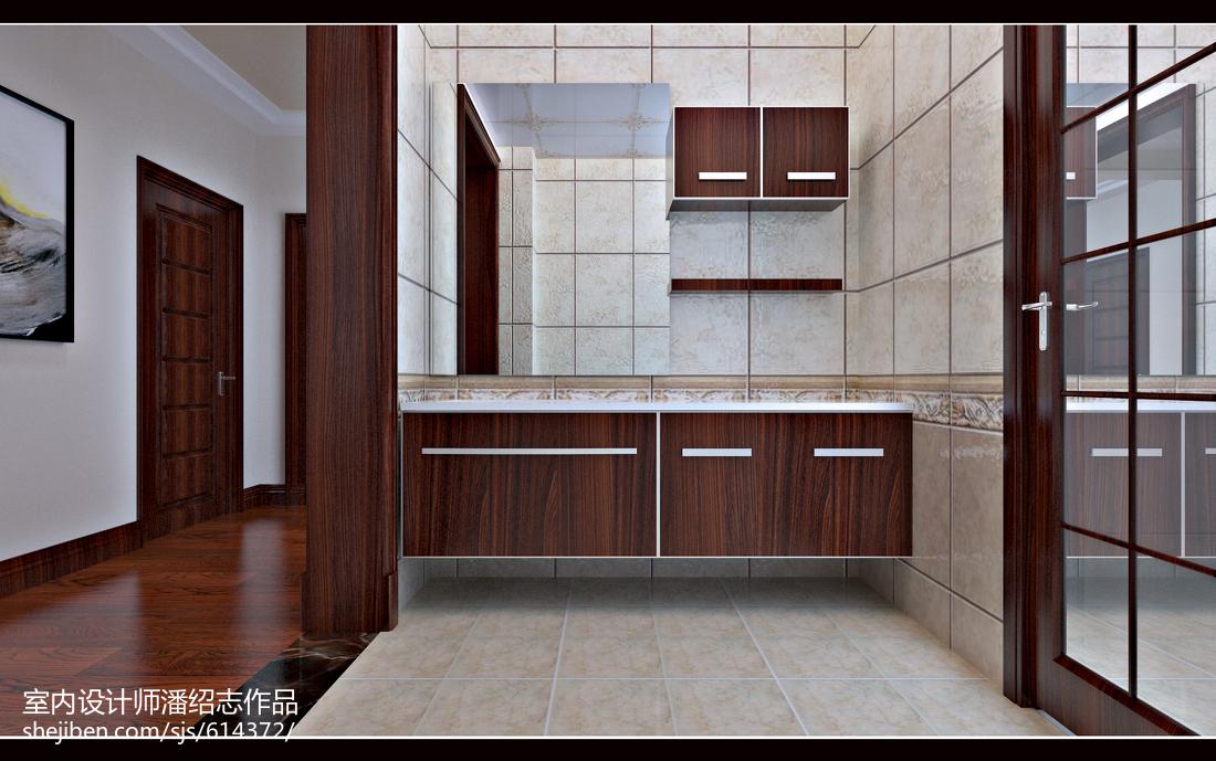 阿曼达-卫生间-新中式风格