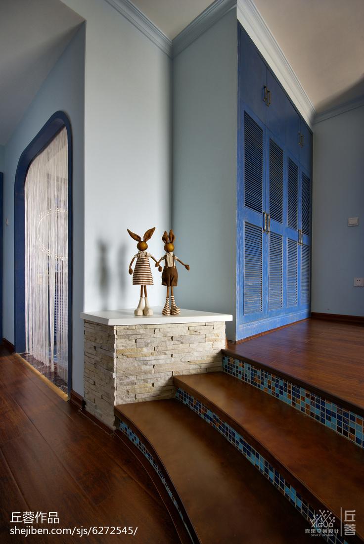 美式实木室内设计复式效果图