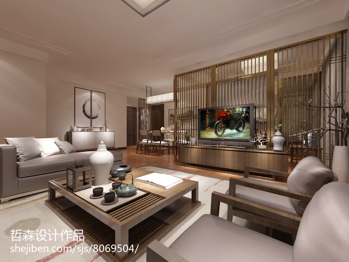 最新日式二居室家居装修设计图片