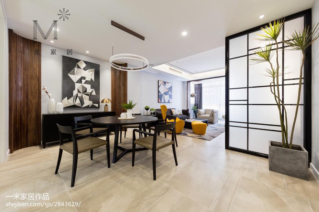 144平米现代别墅餐厅装修设计效果图片欣赏