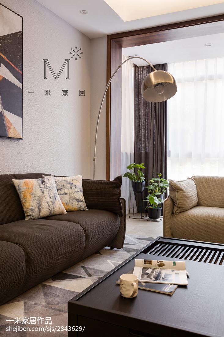 精美118平米现代别墅客厅实景图