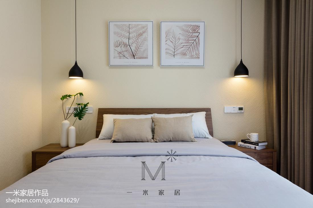 140平米现代别墅卧室实景图