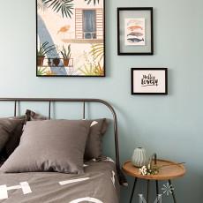 热门大小93平现代三居卧室装饰图片大全