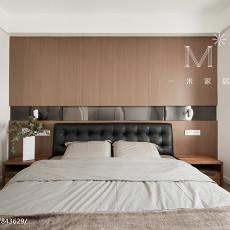 大小99平现代三居卧室装修效果图片