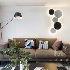 精选大小93平现代三居客厅实景图片