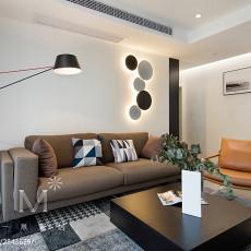 精选面积108平现代三居客厅装修效果图