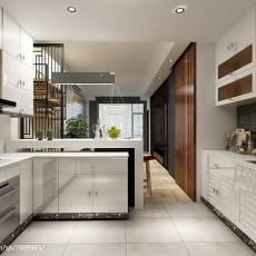 73平米二居餐厅现代设计效果图