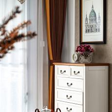 精选105平米三居客厅美式装修设计效果图