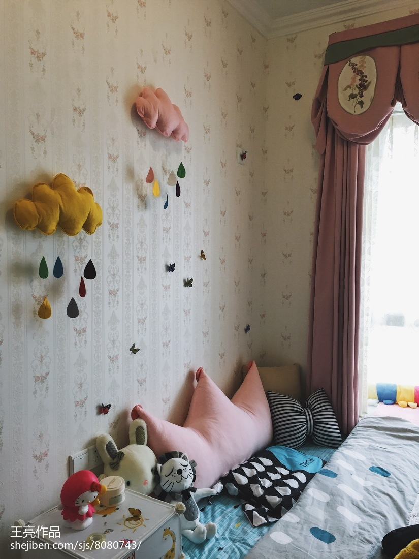 热门美式三居儿童房装修效果图