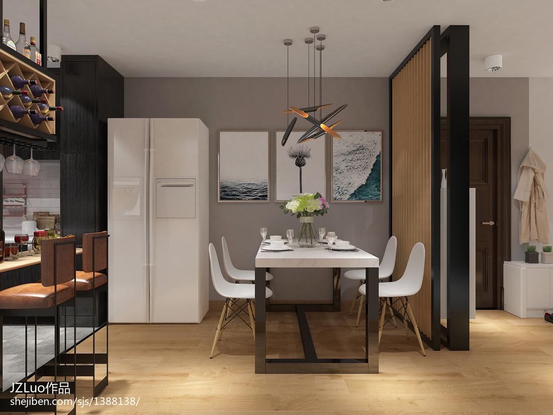 最新现代风格二室一厅室内设计图片