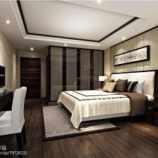 精选面积100平中式三居卧室装修实景图片大全
