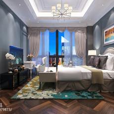 欧式新古典风格四室两厅装修效果图大全欣赏