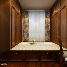 美式风格客厅电视柜设计图