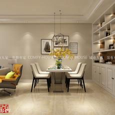 精选73平米二居餐厅现代装修效果图片