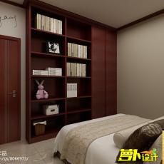 82平米二居卧室中式装修实景图