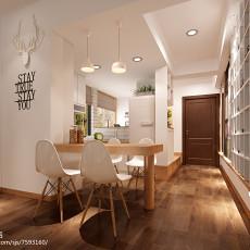 简约风格厨房装修效果图大全2013图片