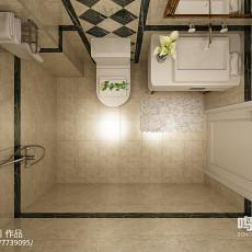 白色简约风格小厨房装修图片