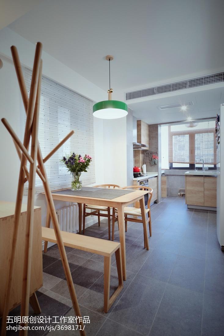 热门面积85平小户型餐厅日式装修实景图