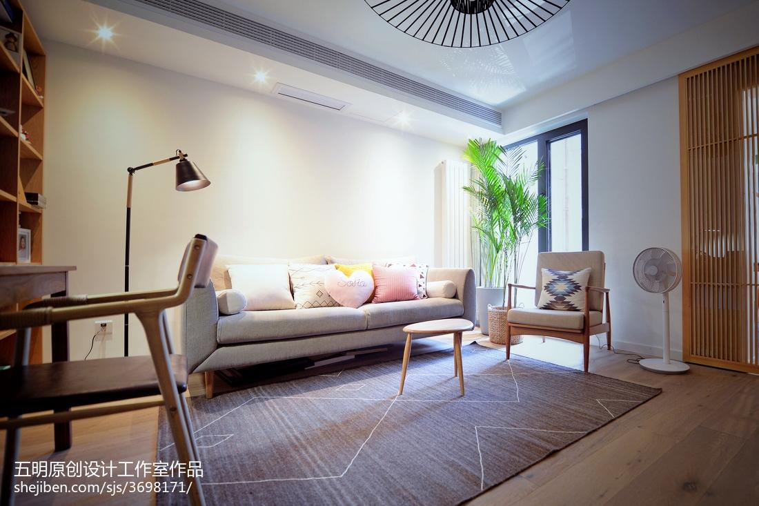 精选小户型客厅日式设计效果图