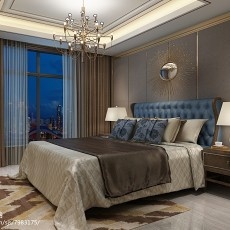 精选121平米四居卧室现代实景图片大全