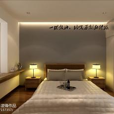 90平米三居卧室现代装饰图片大全