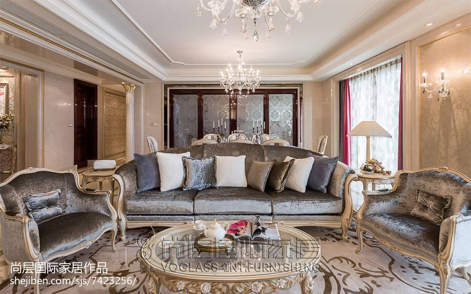2018面积117平四居客厅装饰图片