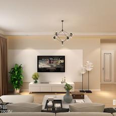简约中式装修效果图大全2014图片客厅