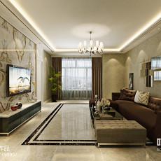 现代美式客厅装修效果图大全图片