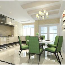 热门面积100平现代三居厨房装修效果图