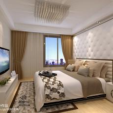 2018简约别墅卧室设计效果图