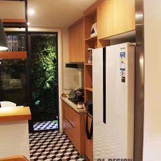 热门面积122平复式厨房现代装修设计效果图片大全