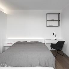 2018精选面积124平现代四居卧室装修效果图