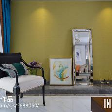 精美92平方三居客厅现代装修设计效果图片