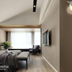 2018精选122平米四居卧室现代欣赏图