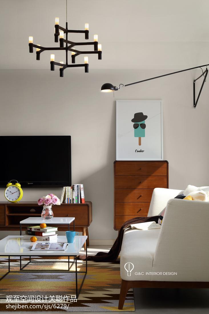 精选139平米四居客厅北欧效果图片欣赏