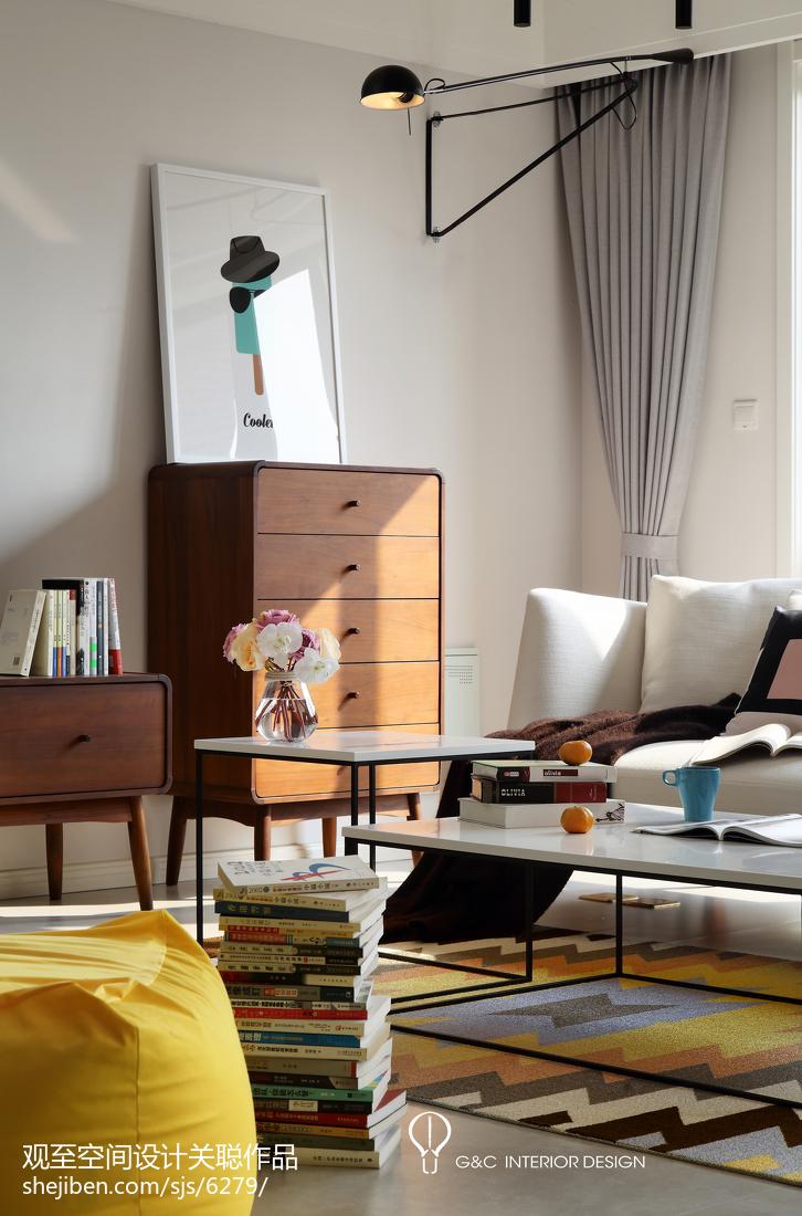 精美143平米四居客厅北欧装修效果图