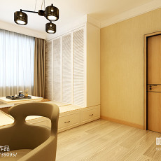 简约双人卧室装修效果图大全2013图片