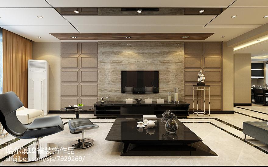 简约设计风格二居室装修